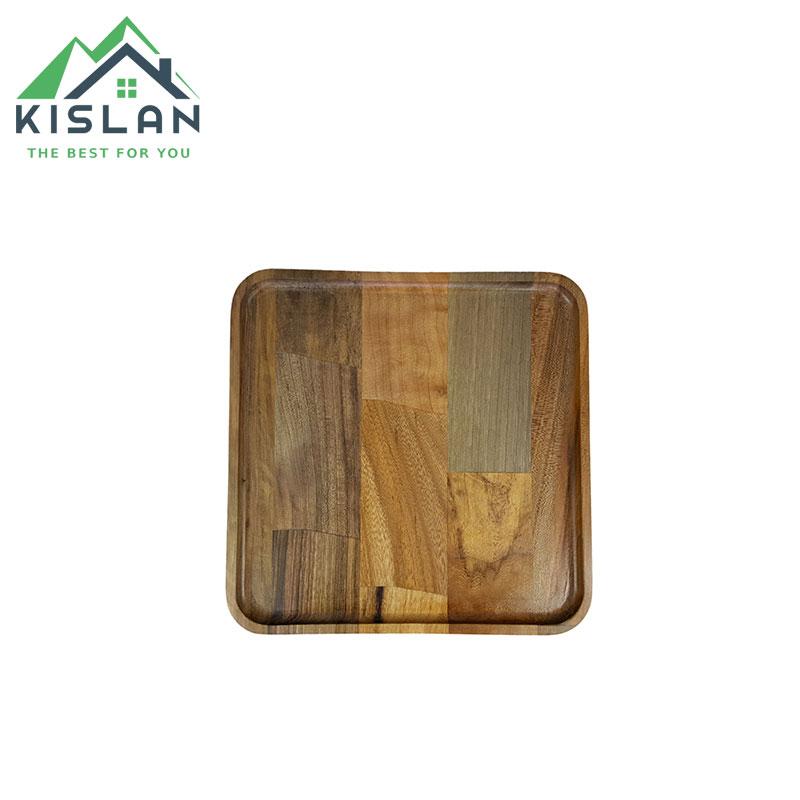 پیش دستی مربع چوبی آماهوم سایز 18