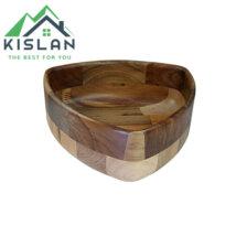 کاسه مثلث چوبی آماهوم سایز 21