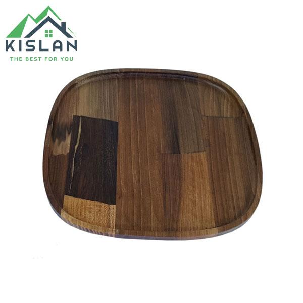 بشقاب پلوخوری چوبی فنیس سایز 25