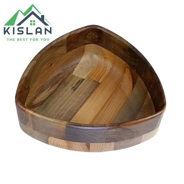 کاسه مثلث چوبی آماهوم سایز 25