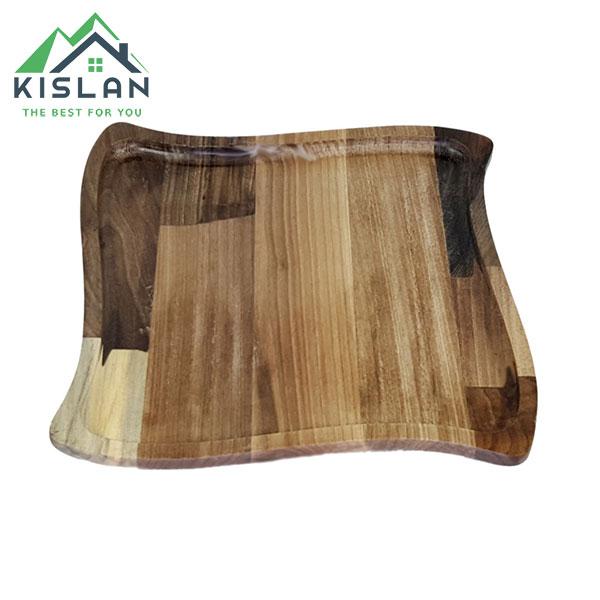 بشقاب چوبی پیچک آماهوم سایز 25